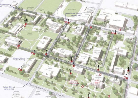 Drake University Campus Signing Plan   Mayer Reed