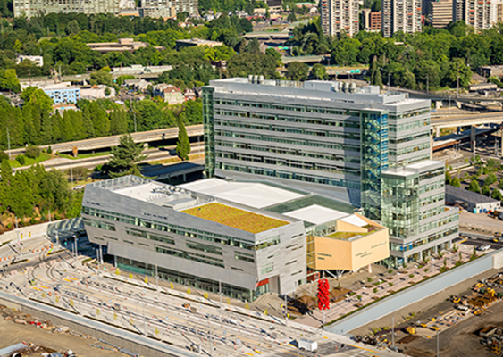 Collaborative Life Sciences Building Aerial
