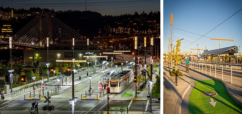 TriMet MAX Orange Line, East Side Urban Design - Mayer Reed