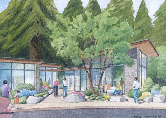 Leach Botanical Garden Expansion Plan Mayer Reed
