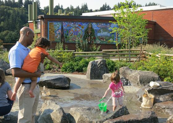 Outdoor Adventure - water play