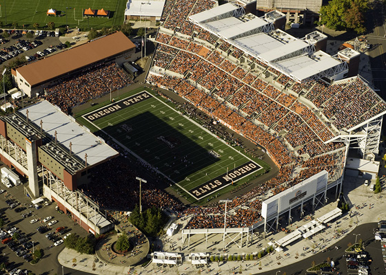 Oregon State University Reser Stadium Expansion Mayer Reed