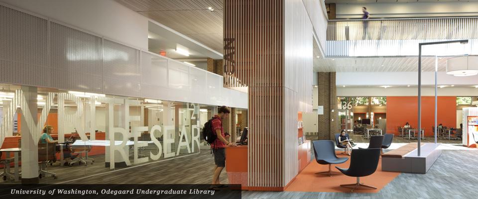 University of Washington Odegaard Undergraduate Library - Mayer/Reed