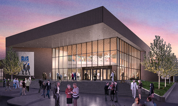Walton Arts Center Rendering