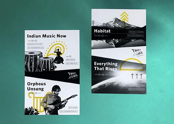 Third Angle New Music graphic design